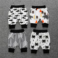baby boys summer cotton Shorts baby cute PP pants Capri pants harem pants  #55ssy