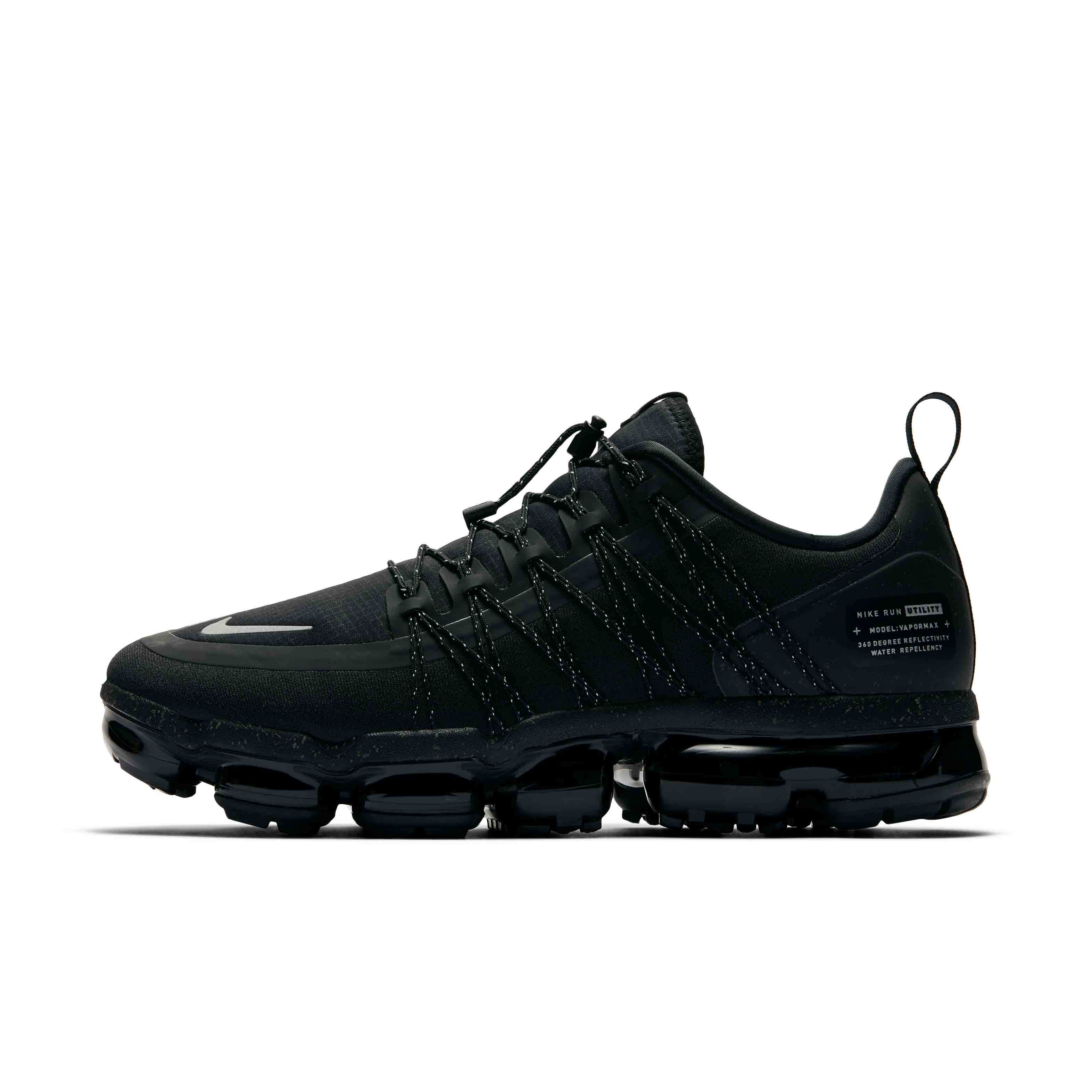more photos 8fcd0 69b58 US $77.76 73% OFF|Nike Air Vapormax RUN UTILITY Official Men Running Shoes  Utility Shock Absorption Comfortable Breathable Sneakers #AQ8810 003-in ...