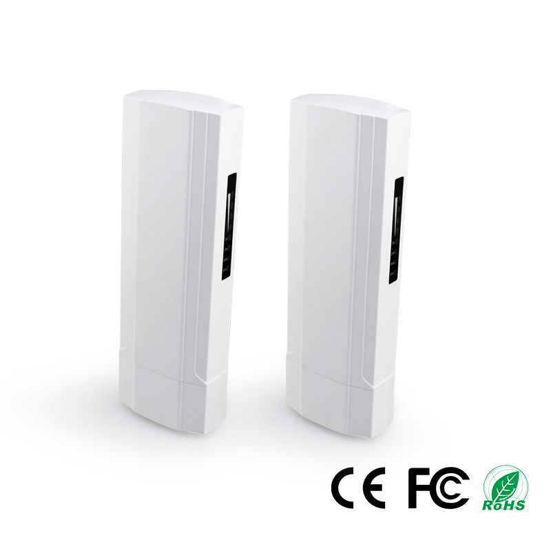 2pcs 3KM Wireless Outdoor CPE WIFI Router 5.8G 450Mbps Access Point AP Router 1000mW WIFI Bridge WIFI Repeater WIFI Extender WDS