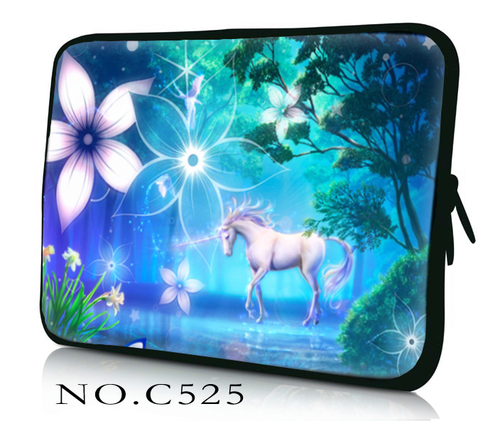 Hot 9.7 10.1 12 13 13.3 14 15 15.6 17 17.3 inch Laptop Sleeve Case Bag Cover+Hide Handle For HP DELL ASUS Toshiba Acer