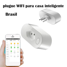 Brazil Smart wifi Socke controller APP Voice Control smart controler remote regulation row plug via Alexa Google
