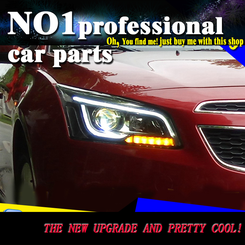 Car styling head lamp 2015 2016 for chevrolet cruze headlights led head lamp drl front