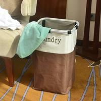 Laundry Hamper Waterproof Laundry Basket with Easily Transport Detachable Laundry Bag for Home Apartment School Dorm