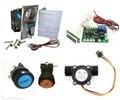 1 комплект для воды торговый автомат регулятор громкости с JY926 мульти монетоприемник кнопку начать или приостановить акцептор нескольких монет