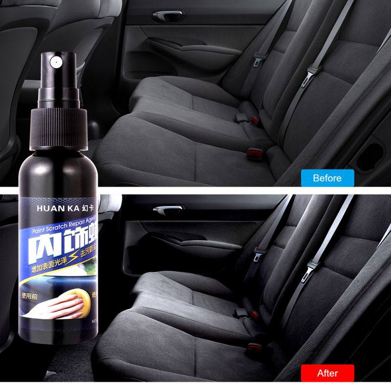 50ml Car Paint Care Polish Hydrophobic Coating Car Interior Leather Seats Glass Plastic Maintenance Clean Detergent Refurbisher Elegant In Smell