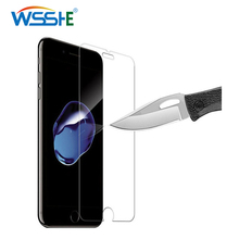 Protective glass For iphone XR X Xsmax 7 8 plus 9H tempered glass screen protector For iphone 8plus 5s XS 6 6s Clear Front Glass 9h 0 26mm on for iphone tempered glass 7 plus 6 6s 7 5s 4s 8 8plus for iphone 7 screen protector front glass for iphone 7 x 6