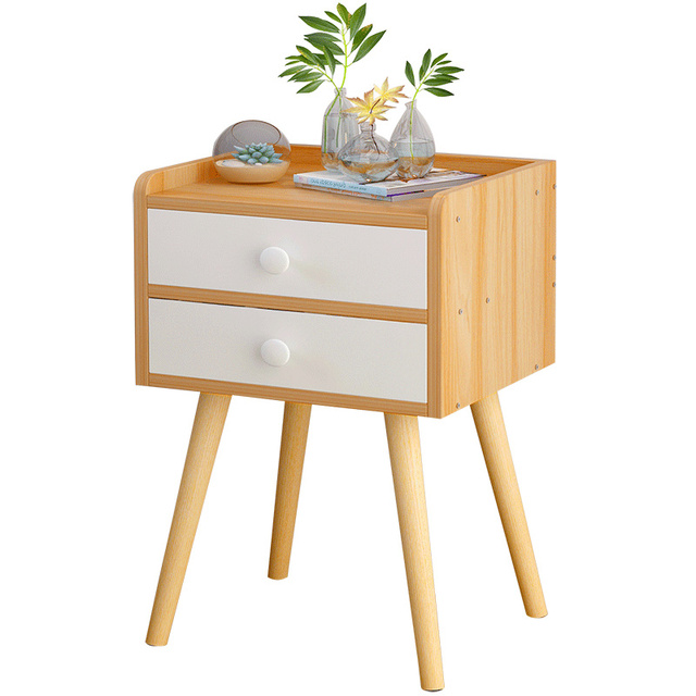 Modern Side End Table Nightstand Bedroom Living Room Table Cabinet