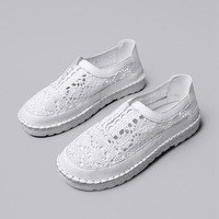 Shoes Spring women's Cool Shoes Breathable Lace Shoes Women Shallow Mouth Set Foot Casual Shoes