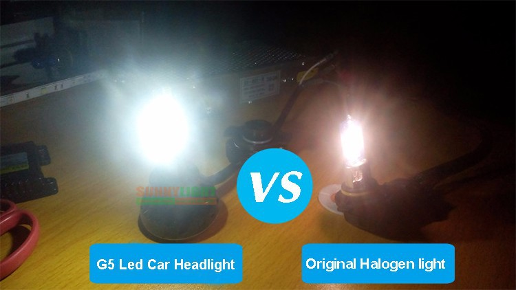 18- H4 hi lo high low led headlight high power 40W motorcycle moto bike headlamp