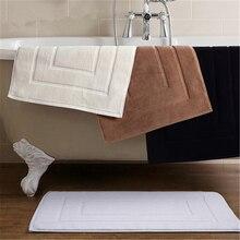 Пятизвездочный отель чистый хлопок коврик для ванной комнаты хлопок кухня ванная геометрический узор дверной коврик
