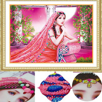 Special Shaped Diamond Embroidery Candlelight Beauty 5D DIY Diamond Painting Cross Stitch Diamond Mosaic Rhinestone