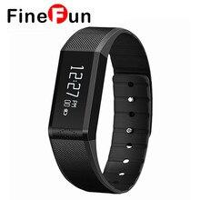 Finefun X6 Bluetooth 4.0 IP65 Smart Браслет браслет часы с сна монитор слежения для iOS7.1 выше/Android 4.3 выше