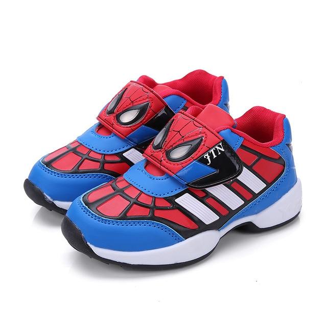 hot sale online 72a8e a6b1a Children Sneakers Jordans Spider-Man Mesh Surface Rubber Sole Lebron Kids  Basketball Soccer Cleats Basket Boys Jordan Girl Shoes