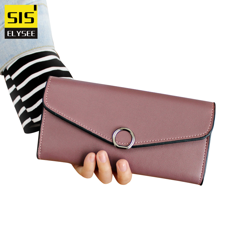 Luxury Brand PU Leather Women Bags Designer Long Style Wallets And Purses Hasp Capacity Clutch Card Coin Holder Bolsas Feminina
