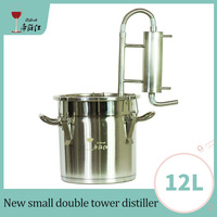12L New Moonshine Distiller Alcohol Making Brandy Whiskey Vodka Bar Family Party winery Liquor Winery Machine device