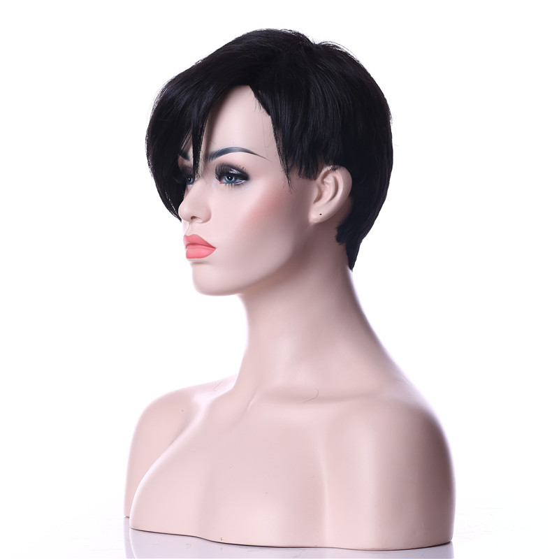 HAIRJOY Woman Synthetic Wigs Natural Black Hair Wig 6 Colors Available Free Shipping 2