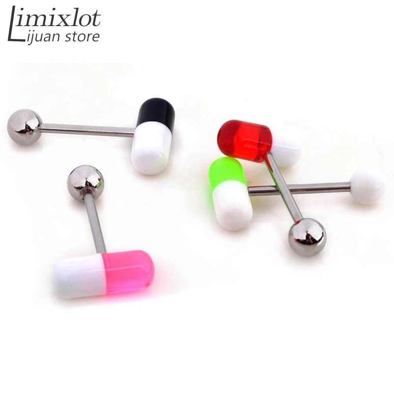 clear diy plastic studs pin backs surgical earrings