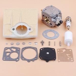 Image 5 - Carburetor Carb Air Filter Diaphragm Repair Kit fit Husqvarna 61 66 266 503280316 Chainsaw Tillotson HS 254B Carburetor RK 23HS