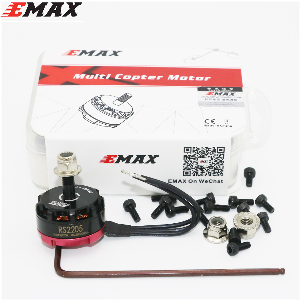 100 Original Product Emax RS2205 2300KV 2600KV Racing Edition CW CCW font b Motor b font