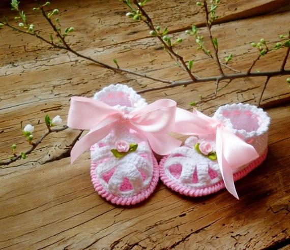 4b8199b6a6916 الأبيض الكروشيه الطفل الصنادل ، الصنادل القطن العضوي لطيف الوليد ، بيبي  بنات أحذية الوليد فتاة هدية ، حجم 9 سنتيمتر ، 10 سنتيمتر ، 11 سنتيمتر