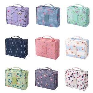 2019 New Women Cosmetic Bag Girls Make u