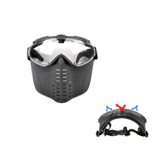 CANIS LATRANS Airsoft BB Gun Paintball Face Goggle Protect Mask Outdoor Sport Wargame