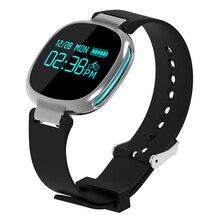 Новый смарт часы E08 Smart Band Bluetooth 4.0 монитор сердечного ритма плавание трекер IP67 Водонепроницаемый фитнес-трекер для IOS Android