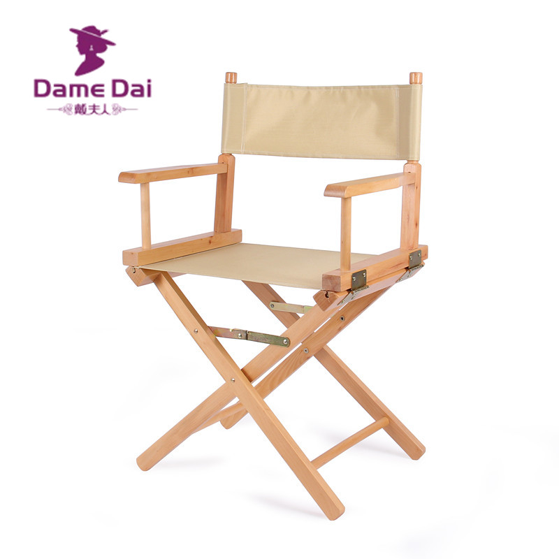 buy standard height directors chair canvas seat and back outdoor furniture portable wood director chairs folding camping beach chair from