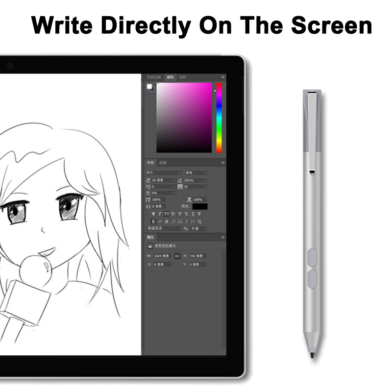 Wireless Laptop Stylus Pen for Microsoft Surface 2017 Pro 3/4/5/6 Go Book NK-Shopping