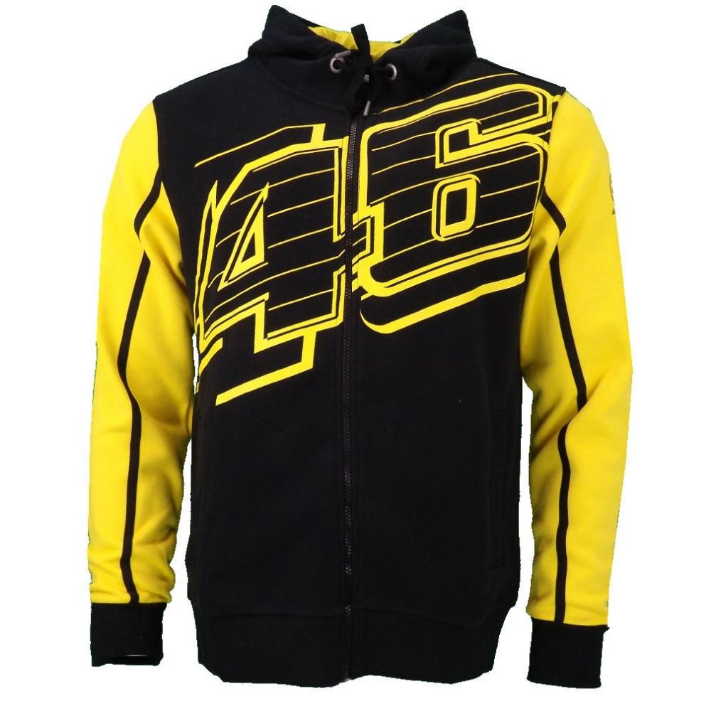 free shipping 2016 Brand New VR46 Hoodies MotoGP Jacket Motorcycle Sweatshirt Motorbike VR FORTY ...