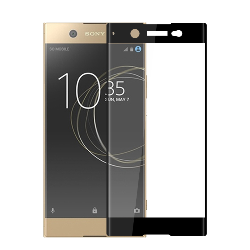 for Sony Xperia XA1 plus XA1 Ultra 3D full Coverage tempered Glass Screen Protector film for Sony Xperia XA2 Ultra Dual XA2 Plus