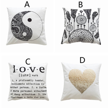 Pillowcase Decorative Print Pillow Cover Upholstery Cushion Cover Cozy Throw Pillow Cases Sofa Seat Car Home Soft Cushion Cover Nibbler