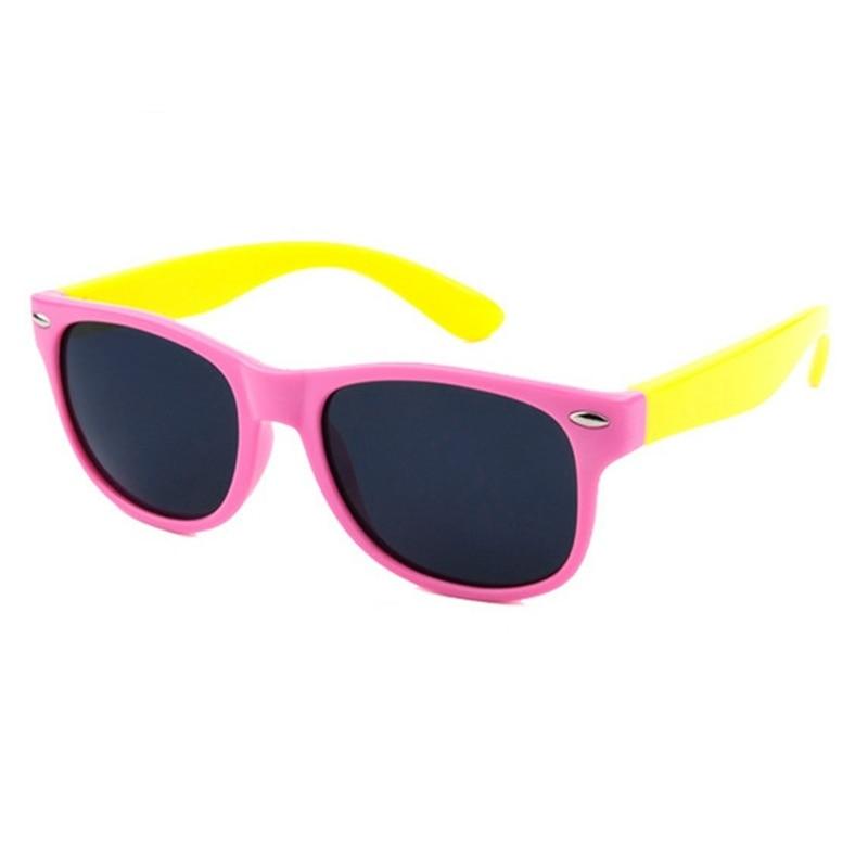 61739ad9d2 Kids Rivet Classic TAC Polarized Sunglasses TR90 Flexible Safety Frame Boy  Girl Brand Design Fashion Eyewear Children Shades