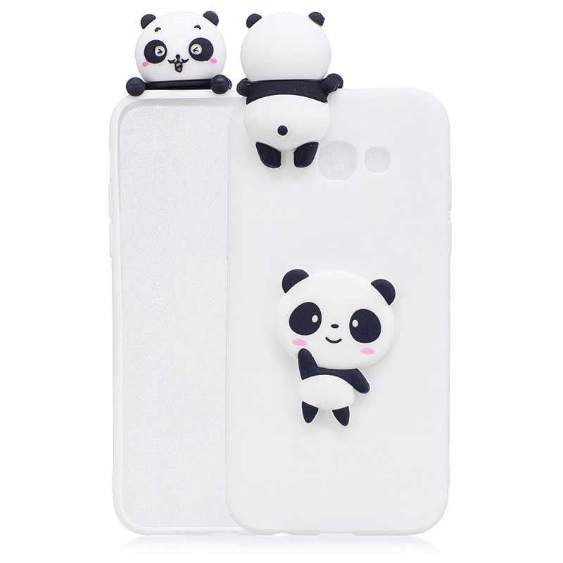 Cute 3D Ice-cream Flamingo Panda Cactus Fruit Soft Silicone TPU Cover Case For Coque Samsung J3 J5 J7 2016 A3 A5 A7 2017 Etui