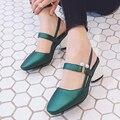 2017 Rhinestone Sexy High heels  women pumps Ladies Big size Wedding shoes