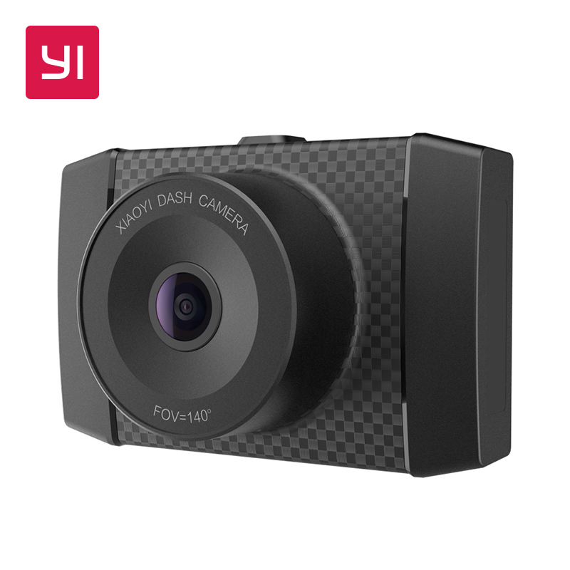 YI Ultra Dash Caméra Avec 16g Carte 2.7 k Résolution Voiture DVR A17 A7 Dual Core Puce Voix Contrôle capteur de lumière 2.7-pouces Écran Large