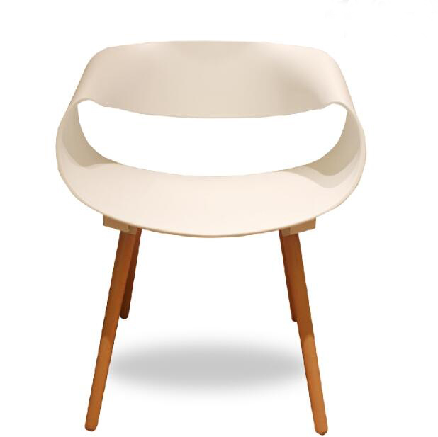 YINGYI New Arrival PP Plastic Dining Chair With Arms Good