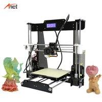 Anet A8 обновленная Impressora 3d Автоматическое выравнивание постели доступная 3d принтер машина прямые фабричные поставки FDM дешево Prusa 3d принтер