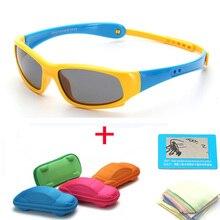 019999bfd1 Los nuevos niños gafas de sol polarizadas niños niñas de silicona Ultra  suave de gafas de seguridad para bebé niño gafas de sol .