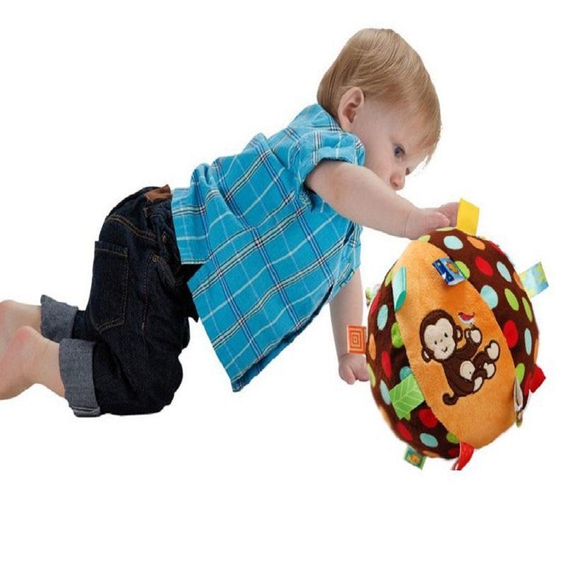 Mono Colorido Anillo de Bebé Juguete de Pelota de Bell Juguetes - Juguetes para niños - foto 4