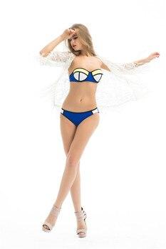 2016 White Sexy Women Lace Crochet Tassel Bikini Swimwear Cover Up Woman Beach Dress Bathing Suit Beach Swimwear cover up 3