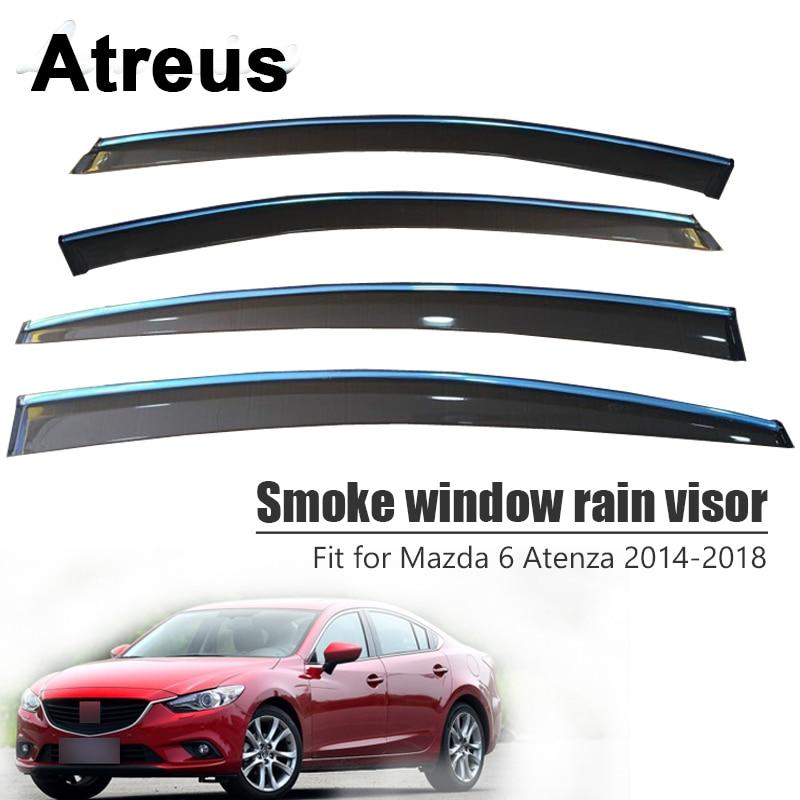 Atreus For Mazda 6 Atenza 2014 2015 2016 2017 2018 Car Accessories Door Smoke Window Sun