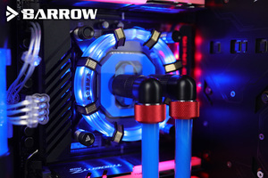 Image 4 - Barrow CPU Water Blok gebruik voor INTEL LGA1150 1151 1155 1156/X99 2011/AMD AM3 AM4/Radiator 5V GND om 3PIN Hearder Moederbord