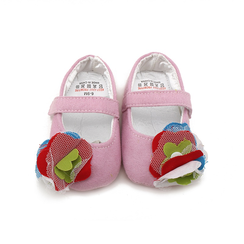 Summer Cute Toddler Newborn Baby Girl Leather Soft Sole Crib Girls Shoes Prewalker 0-18M