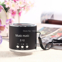 Z12 Portable Speaker USB Micro SD TF Card FM Radio Mini Wired Speaker Computer Subwoofer Music Box Mp3/4 For phone Laptop PC