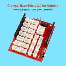 лучшая цена Crowtail Base Shield DIY Kit Open Source Free Shipping
