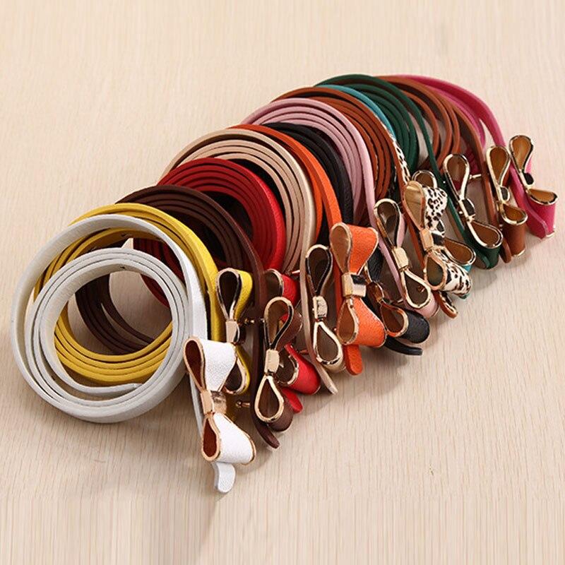 2017 Cinturones Femeninos para Mujeres Estilo Verano 13 Color - Accesorios para la ropa - foto 2
