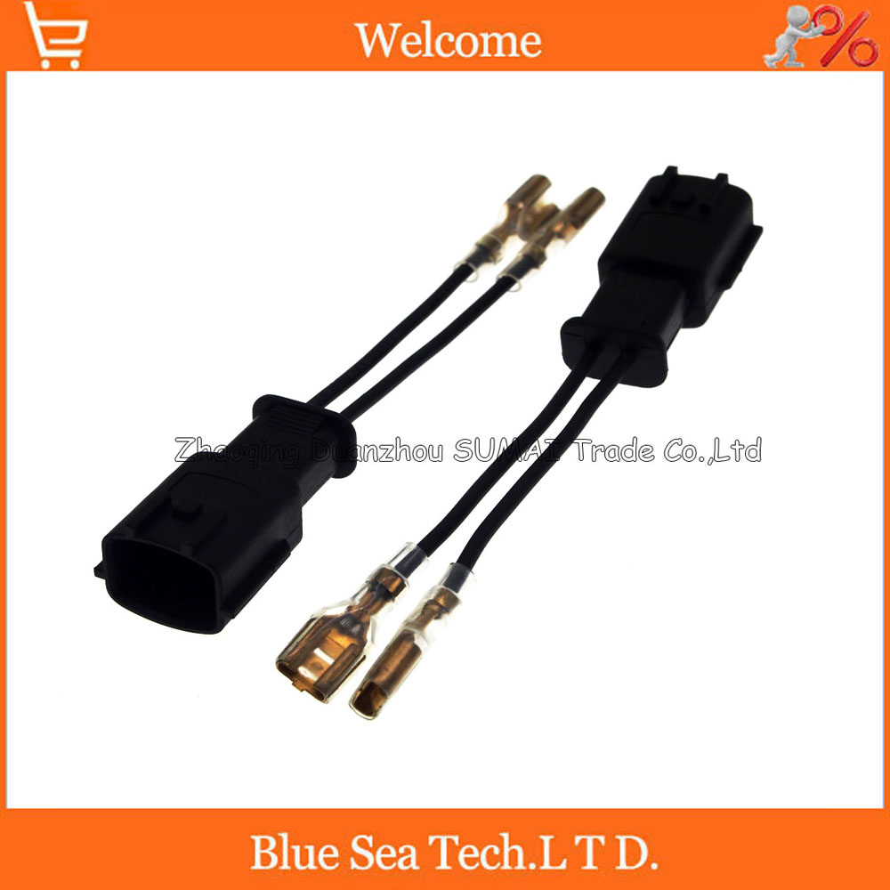 2Pin horn adapter,Auto speaker connector,horn plug,Car electrical modified for Hyundai, KIA etc. modified motorcycle accessories refires horn trolley belt oil pump cnc general horn refires