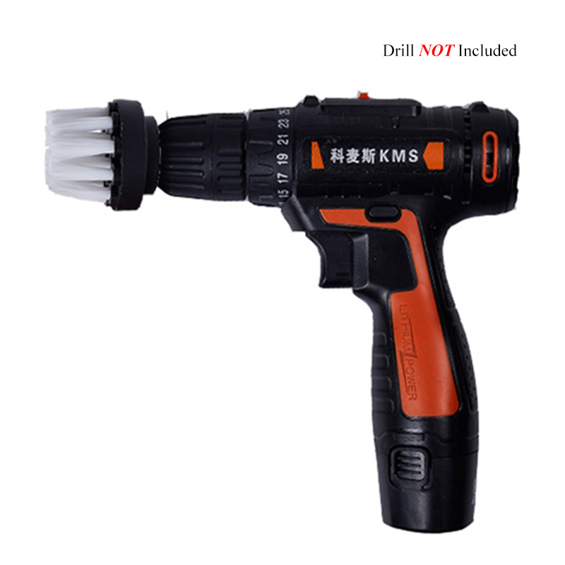 2 3 5 4 5inch Electric Floor Cleaning Brush Drill Power Tool For Removing Stubborn Stains On Stone Mable Ceramic Tile White in Abrasive Tools from Tools
