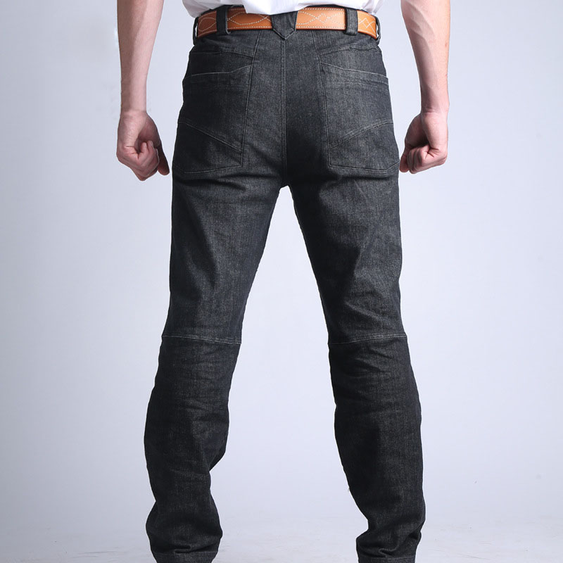 Men Tactical   Jeans   Warm Breathable Wear-resistant Sweat Absorbing Multi-pockets Denim Pants FDC99